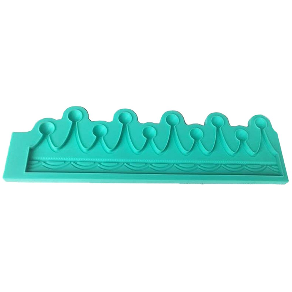 Small Crown Fondant Cake Silicone Mold Chocolate Moulds Cake Decoration Tools For Cake Decoration Cupcake Topper Decor