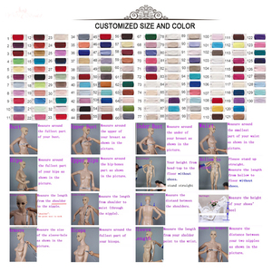 Image 5 - RSW1431 Sleeveless V Neckline Back Mermaid Lace Ivory And Champagne Color Wedding Dress