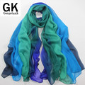 GONZETANNK 2017 Summer Womens Beautiful  Luxury Brand Shawls  Silk Satin Scarves Beach Towel Scarf Chiffon  Big Size 180*110CM