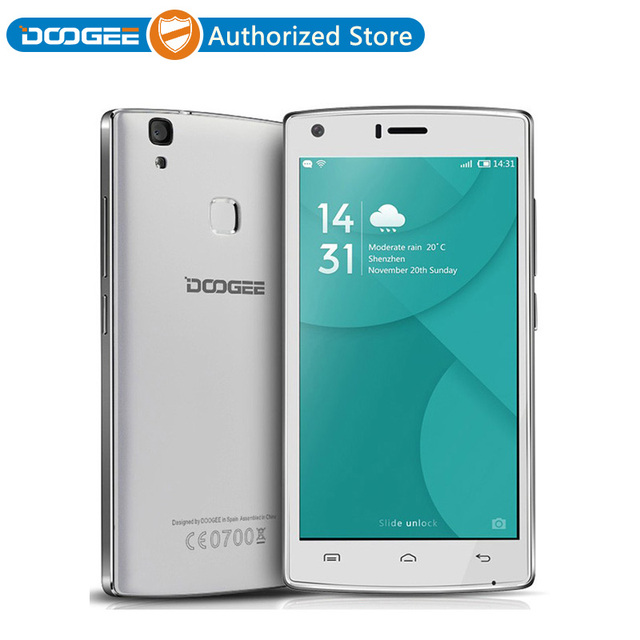 Doogee X5 MAX 4G LTE Mobile Phone 5.0'' Android 6.0 MTK6737 Quad Core 2GB+16GB Smartphone 4000mAh Touch