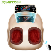 4D Shiatsu Electric Foot Massager machine Device With Air Compression Infrared Heating Automat Electric Vibrator for Health Care