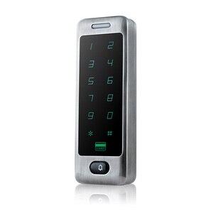 Image 4 - للماء المعادن اللمس 8000 المستخدمين الباب RFID التحكم في الوصول لوحة المفاتيح حالة قارئ 125 كيلو هرتز EM4100 ID بطاقة