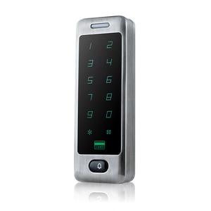 Image 4 - Su geçirmez Metal Dokunmatik 8000 Kullanıcıları Kapı RFID Erişim Kontrolü Tuş Takımı Okuyucu 125 khz EM4100 KIMLIK Kartı