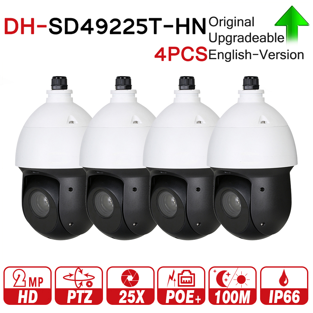 original dahua dh sd32203s hn 2 megapixel full hd network mini ptz dome camera sd32203s hn DH SD49225T-HN with logo original 2MP 25x Starlight PTZ Network IP Camera High Speed IP Dome Camera Digital Zoom IP66 4pcs/lot