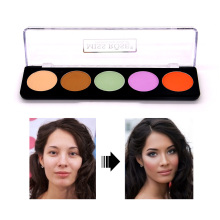 Concealer Face Makeup Natural Brighten Foundation Whitening Base Concealer Cream Palette miss rose makeup concealer full cover face foundation cream natural brighten contouring cosmetics women beauty face base makeup