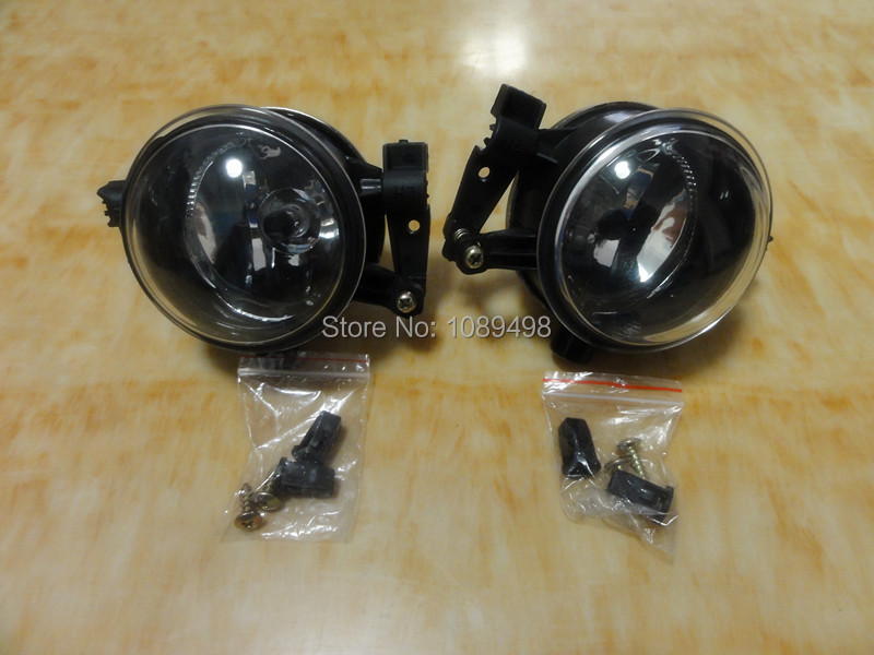 2 Pieces/Pair RH and LH Front Bumper Driving Fog Lamp lights for Ford Focus 2 2005-2007 1 pc rh right side front fog light bumper driving lamp with cover for mazda 6 2003 2005
