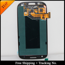 Free Shipping Tracking No. 100% tested For Samsung S3 I9300 LCD i9300i i9305 Display LCD Screen Touch Digitizer Assembly