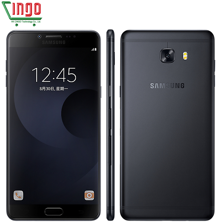 original samsung galaxy c9 pro c9000 4g lte mobile phone 6g ram 64g rom octa core fingerprint 6. Black Bedroom Furniture Sets. Home Design Ideas