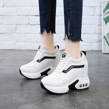 Fashion Women Sneakers Casual Shoes Woman Platform Wedges Flats Trainers