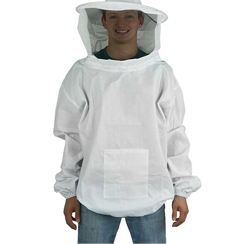 Beekeeping Anti bee Clothing Breathable Dedicated Beekeeping Suit Beekeeper Half body with bee proof cap Gardening supplies in Protective Clothing from Home Garden