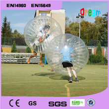 Free Shipping!1.5m PVC Zorb Ball/ Bubble Football/Bumper Ball /Bubble Soccer Ball/Human Hamster Ball