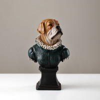Nordic Style Animal Dog Horse General Creative Living Room Home Furnishings Porch Study To Send Boys Gifts England Decor M1833
