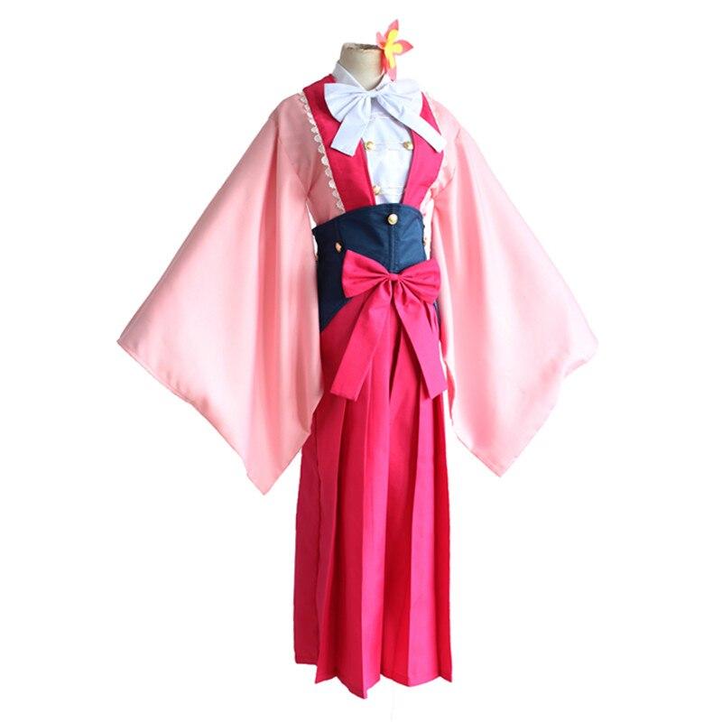 brdwn Kabaneri of the Iron Fortress Women Ayame Yomokawa Cosplay Costume Kimono