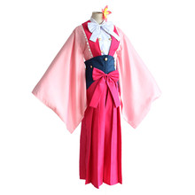 brdwn Kabaneri of the Iron Fortress Women Ayame Yomokawa Cosplay Costume Kimono
