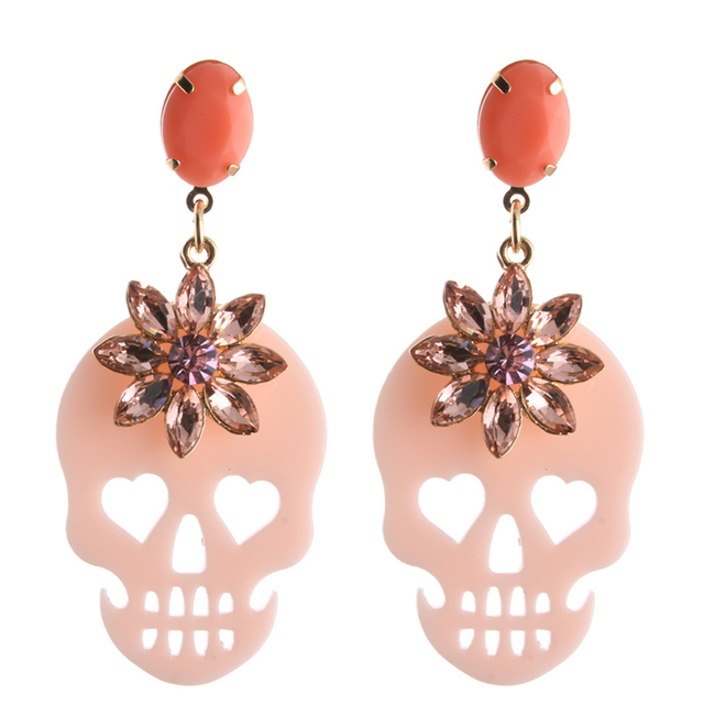 Beautiful Halloween Drop Earrings 10 Colors 4