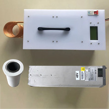 2500KW chauffage par Induction haute fréquence Machine de chauffage par Induction four de fusion en métal + creuset + alimentation