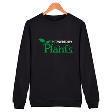 """Powered By Plants"" Unisex hoodie / 6 colors"