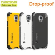 Puregear Original Outdoor Anti Shock DualTek Extreme Shock Case for Samsung Galaxy S5 S6 S7 with Retail Packaging Free Shipping