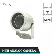 Cmos 800 Lines CCTV Analog Wired Home Mini Camera 12LED IR Night Vision IP66 Outdoor Waterproof Video Surveillance Camera