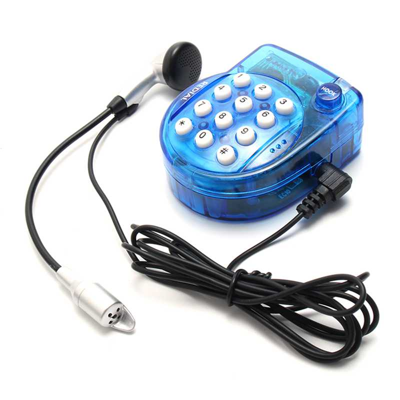 bilder für High Quality Portable Phone Genius Mini Handsfree Telephone With Earphone Super Power Small Telephone Mini Conference Call