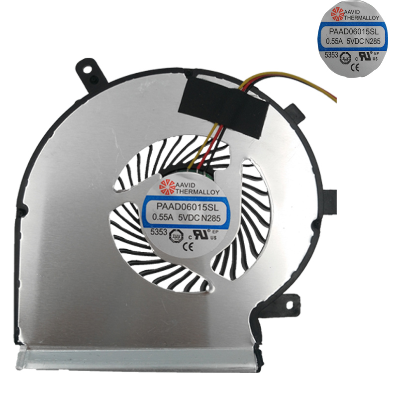 Brand New Laptop Cooling FAN for MSI GE62 GE72 PE60 PE70 GL62 For CPU fan Cooler Radiator Repair Replacement in Fans Cooling from Computer Office