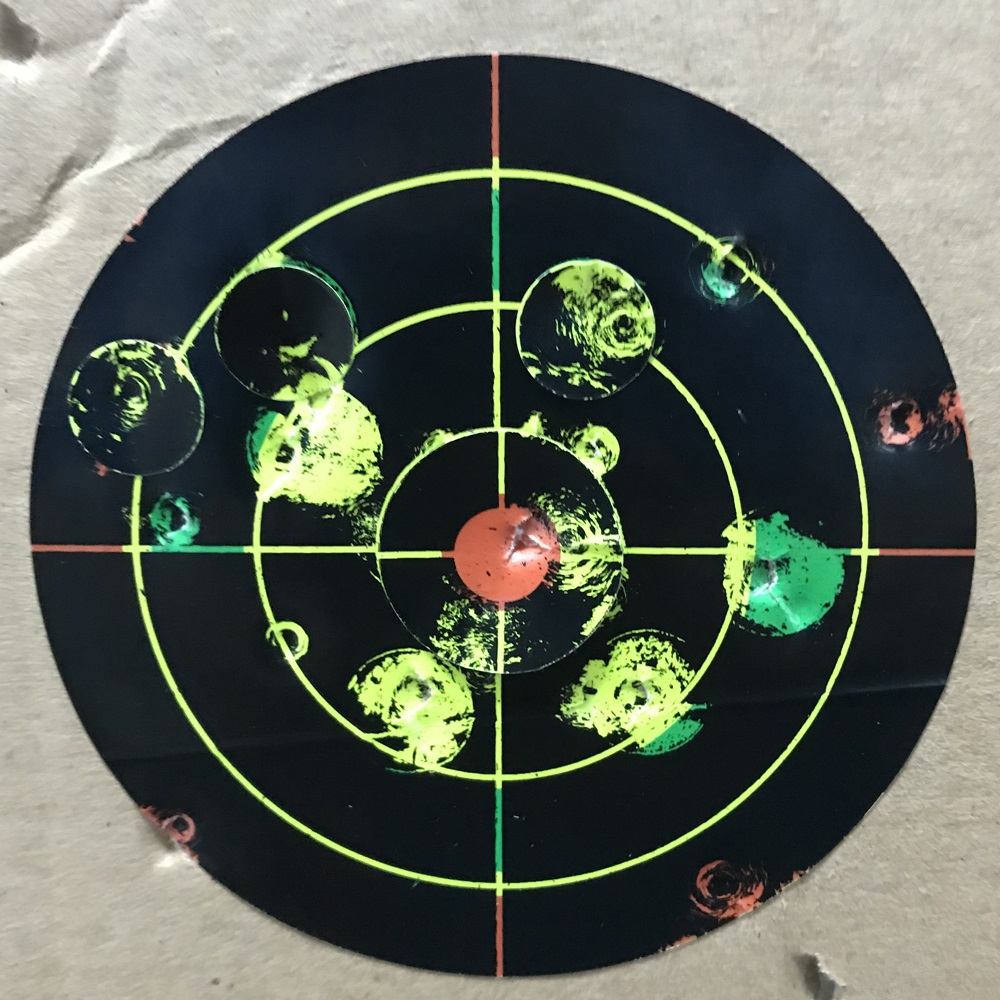 """Image 3 - Gun  Air rifle Shooting targets 8""""X8"""" Triple Colors Reactive & splatter Shooting targets-in Paintball Accessories from Sports & Entertainment"""