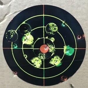 "Image 3 - Gun Air rifle obiettivi di Ripresa 8 ""X 8"" Colori Triple Reattiva & splatter obiettivi di Ripresa"