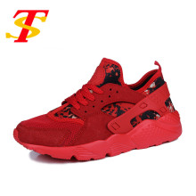 TS 2017 Breathable Man red Casual Shoes Men Flat Fashion Shoes Comfortable Camouflage Zapatillas Hombre Light Soft Male Footwear