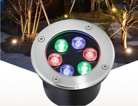 2018 grondspot moderne lampadaire led 4 pcs lote undergourd 6 w led piso luz fase