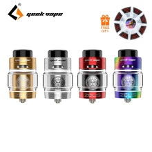 Free Coil Original Zeus Dual RTA Geekvape Zeus Dual Coil Version 5.5ml/ 4ml/2ml RTA Zeus Atomizer Leak Proof Top Airflow System
