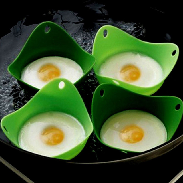Best Silicone Egg Poacher Cups Microwave Or Stovetop Eggs Cooking Tools Bpa Free Pack Of 4