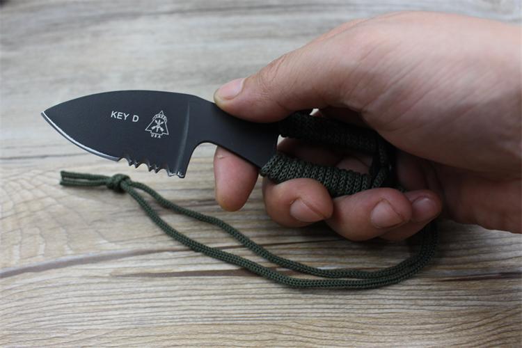 Coltello da collo karambit vero combattimento campo di combattimento - Utensili manuali - Fotografia 2