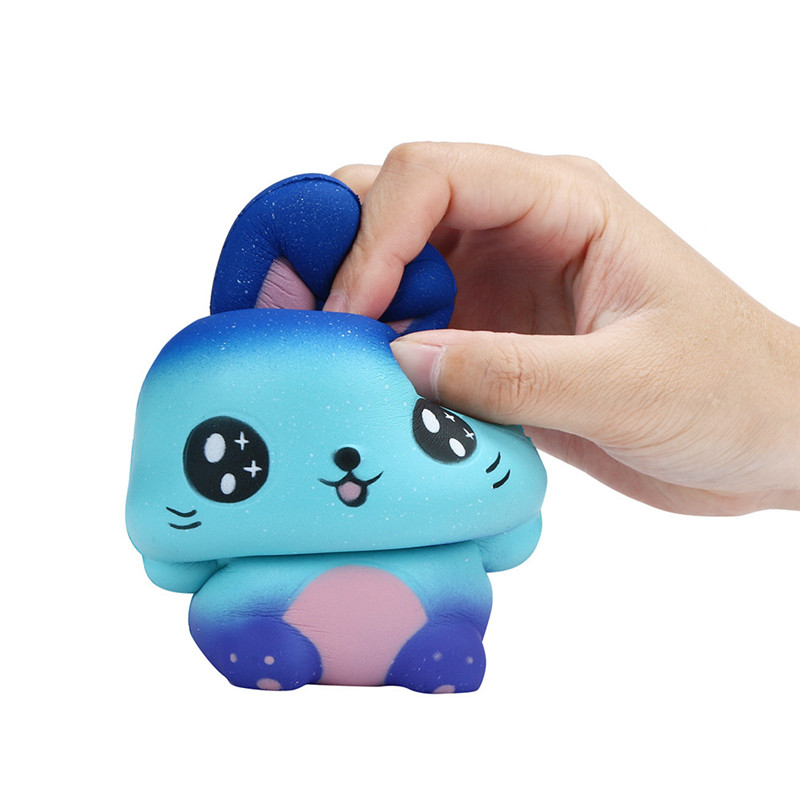 Squishy Starry Cute Rabbit Scented Slow Rising Collection Squeeze Stress Reliever Anti-stress Childrens toys Gift Toys 2018