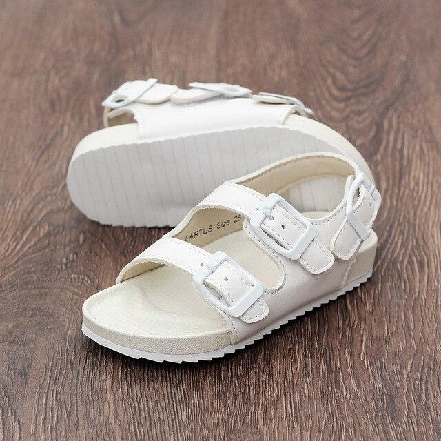 82c6a1c2e150e7 LARTUS Children Shoes Summer New Kids Shoes Toddler Boys Sandals Fashion Cork  Sandals Fashion Girls Shoes