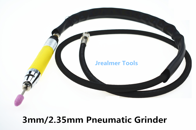 Jrealmer 3mm/2.35mm Air Micro grinder pencil pneumatic grinder Die grinder air pressure grinder 1pcs free shipping cal 630a micro air grinder torque increased 80% made in taiwan