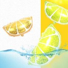 Orange Lemon Foil Balloons watermelon Birthday Summer Party Balloon Decoration Supplies Hawaii Theme