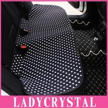 Ladycrystal подушки сиденья автомобиля Мягкие волны точки Авто Чехлы для сидений мотоциклов стайлинга автомобилей интерьера Интимные аксессуары цельнокроеное платье