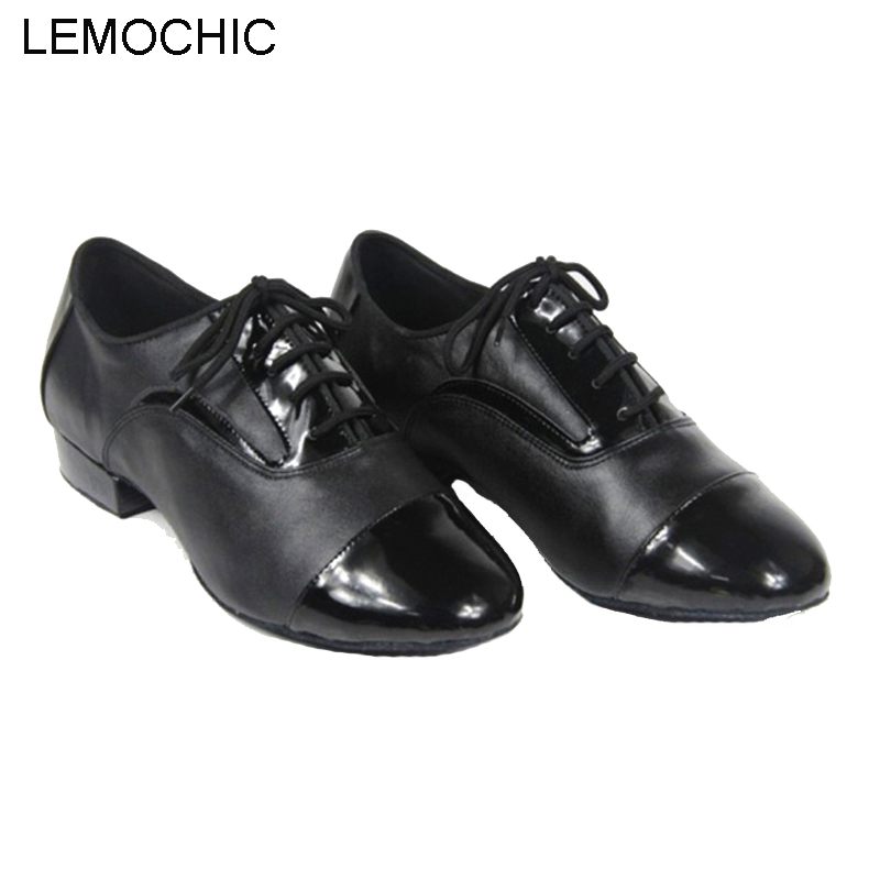 LEMOCHIC best seller genuine leather men male hot sale rumba samba latin tango cha cha pole salsa ballroom pointe dancing shoes