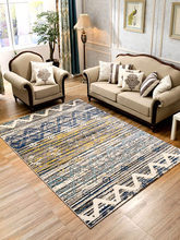Simple modern Nordic geometric abstract living room table bedroom carpet wedding full bedside blanket ins