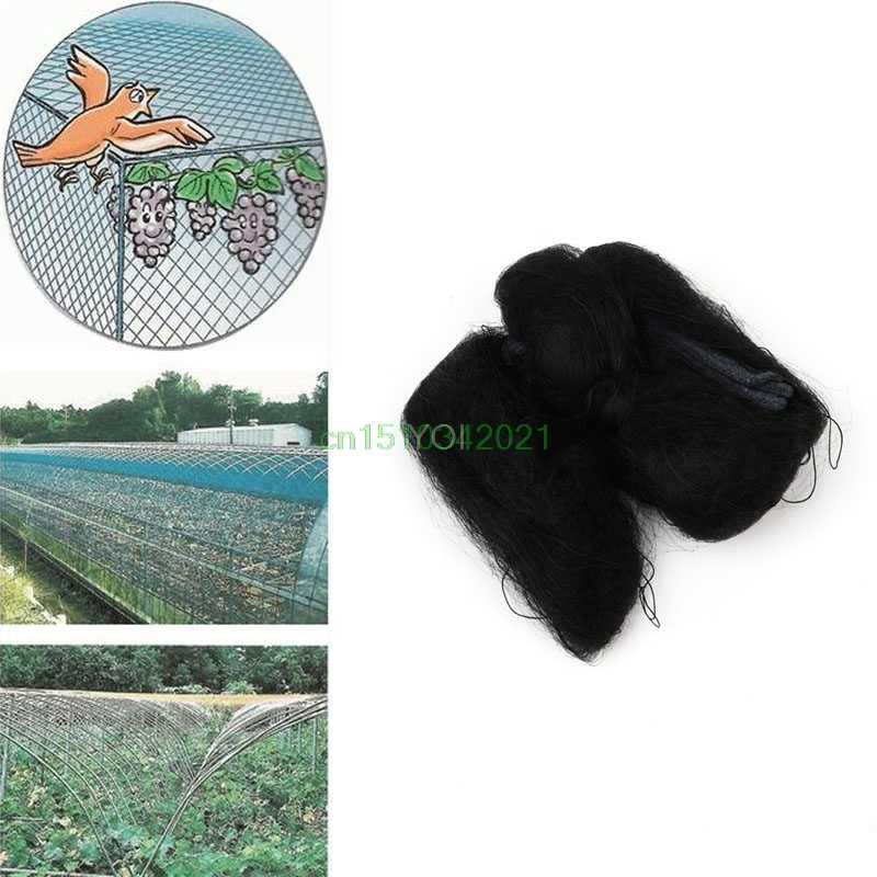 Bird-Preventing Anti Bird Netting Net Mesh For Fruit Crop Plant Tree Black 3x10m