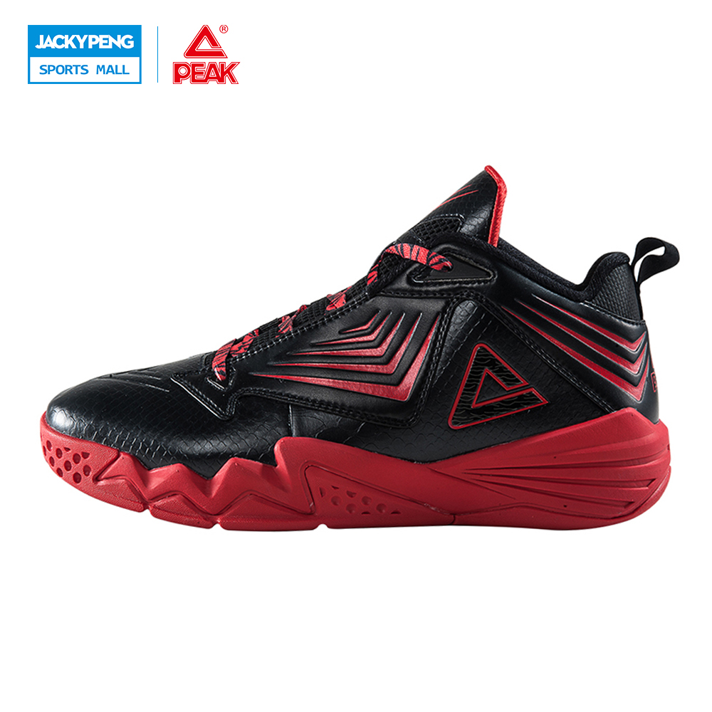 PEAK SPORT Monster II-III All-Star Men Basketball Shoes FOOTHOLD Tech Athletic Sneakers Breathable Comfortable Training Boots peak sport star series george hill gh3 men basketball shoes athletic cushion 3 non marking tech sneakers eur 40 50