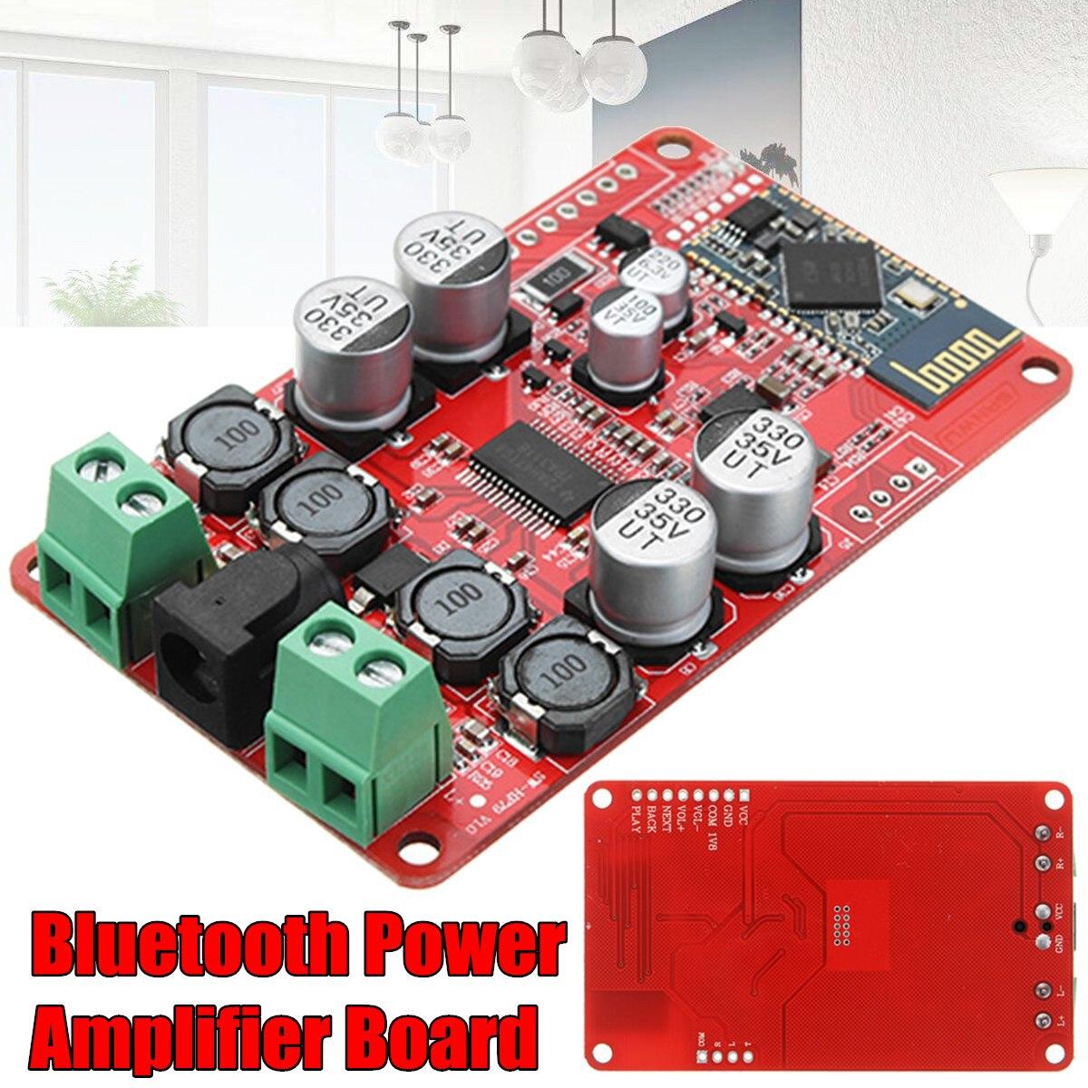 TPA3118 30 W + 30 W amplificador Digital estéreo Bluetooth CSR4.0 amplificador de potencia digital DC8V-26V A4-005