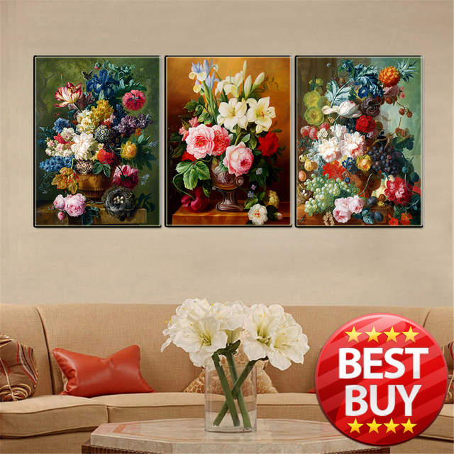 Good Canvas Painting Modern Abstract Oil Print For Living Room Home Decor  Picture Cartoon Hero Flower Animal Images