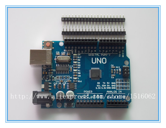 high quality UNO R3 MEGA328P CH340 CH340G for Arduino UNO R3 NO USB CABLE