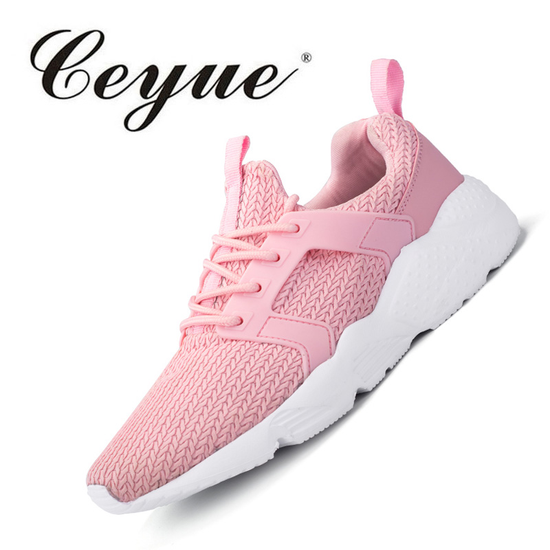 Ceyue Fashion Brand Women Shoes Breathable Air Mesh Trainers 2017 Spring Autumn Casual Shoes Woman Walking Flats Tenis Feminino ceyue fashion brand women shoes breathable air mesh trainers 2017 spring autumn casual shoes woman walking flats tenis feminino