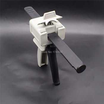 Pistolet do kleju 55cc kleje epoksydowe dozownik narzędzia 55ml kleje UV pistolet samoprzylepny pojedynczy płynny aplikator ręczny pistolet uszczelniający tanie i dobre opinie Powertoolbit ELECTRICAL Kaseta pistolet CN (pochodzenie) Single Liquid Guns UV Glue Gun 55ml 1-part Caulking Gun manual