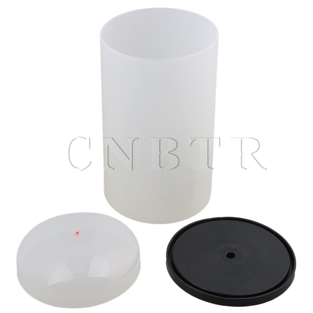 цена на CNBTR Surface Smoothly PVC 15x28cm Translucent Winder Coil Cover with Pedestal