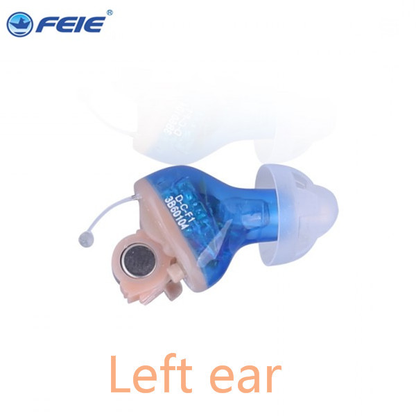 CIC Ear Tinntius Hearing Aid Multi-core Digital Bionic Technology 8 Channel  s-17a Productos Innovadores Drop Shipping aparelho auditivo 8 channel cic hearing aid loss for severe deaf s 17a drop shipping