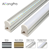 PVC Plastic LED Tube T5 Light 220V 240V 30cm 5W 60cm 1ft 2ft 10W LED Fluorescent