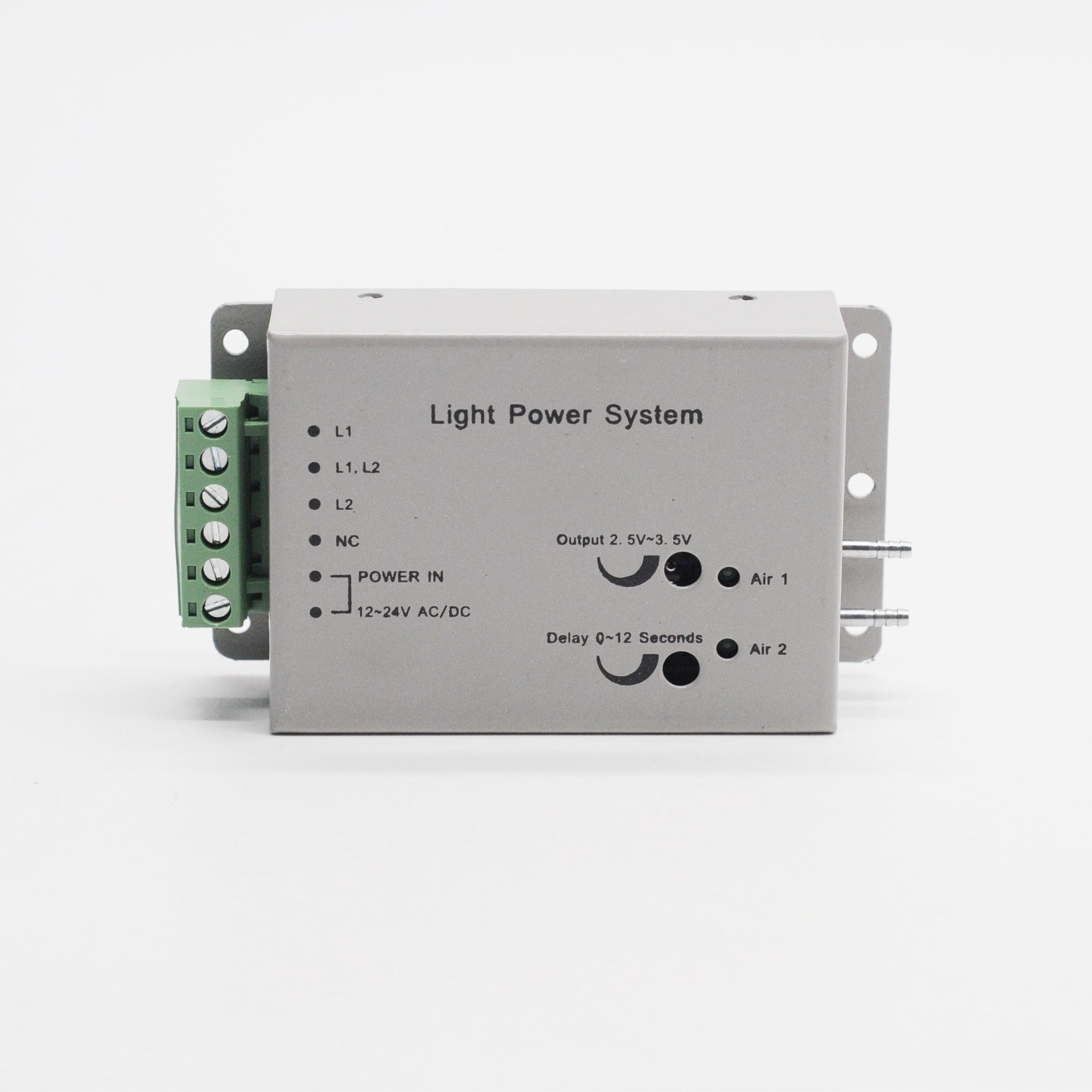 6Holes Dental LED Fiber Optic Handpiece Air Turbine Dental Fiber Optic Handpiece Light Power Control System Unit